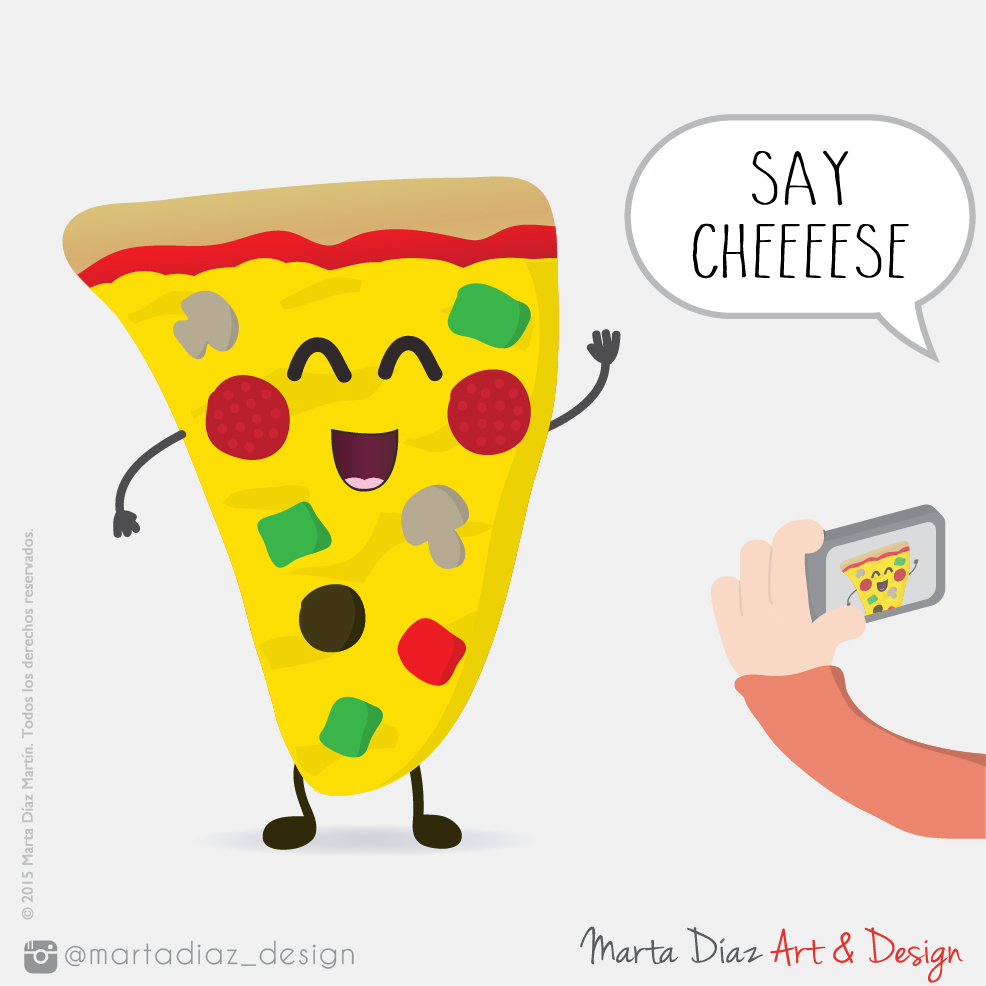 SAY CHEESE  | Marta Díaz Art & Design