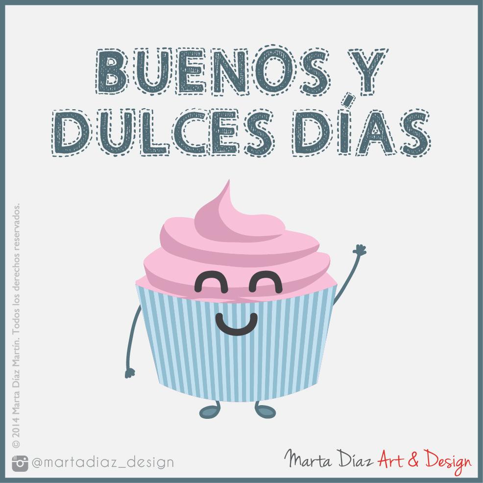 BUENOS DÍAS  | Marta Díaz Art & Design