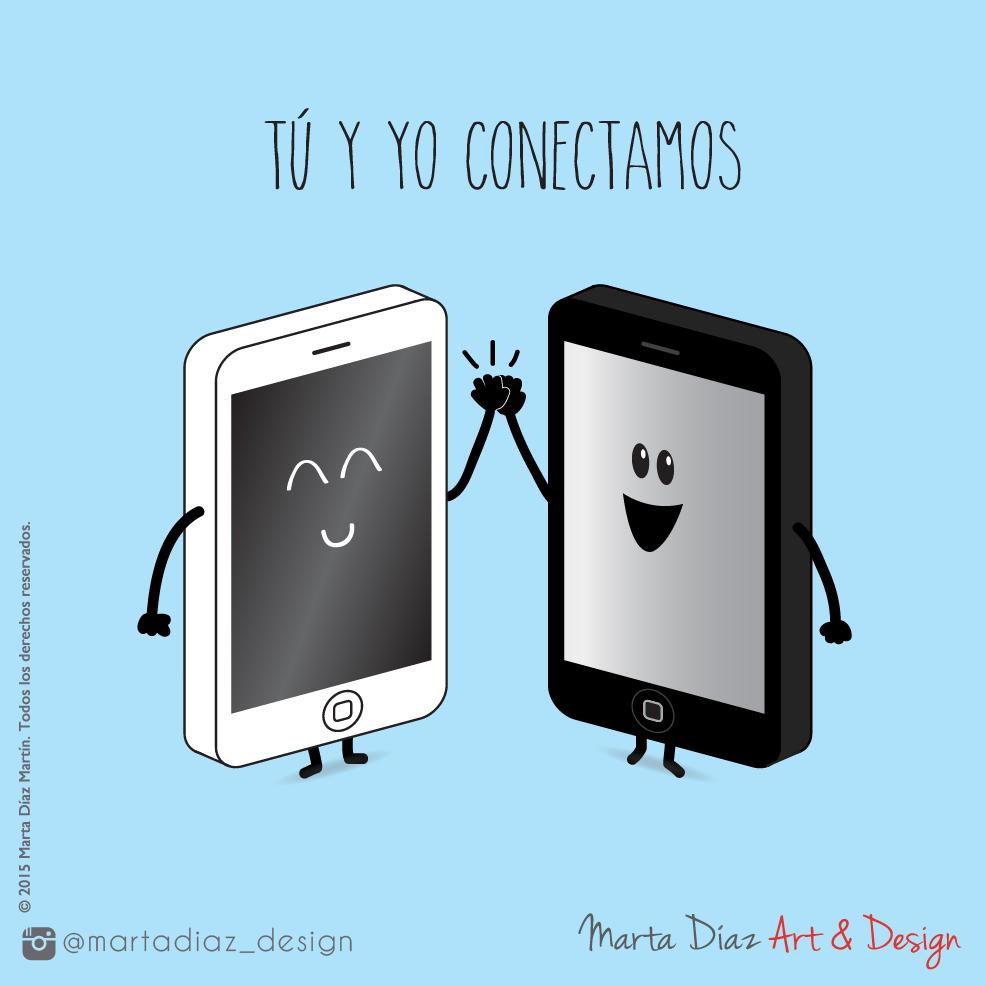 CONECTAMOS  | Marta Díaz Art & Design