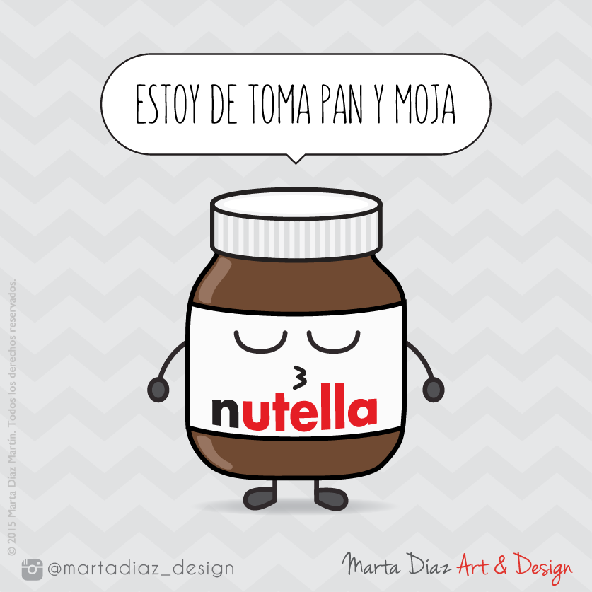 NUTELLA  | Marta Díaz Art & Design
