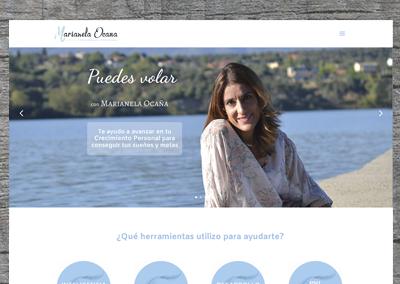 Página web Marianela Ocaña