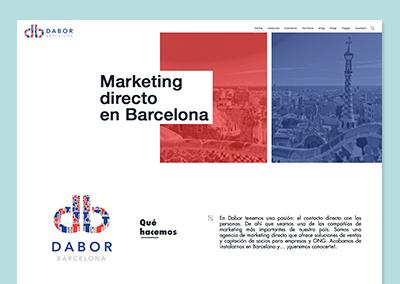 Mockup web Dabor Barcelona