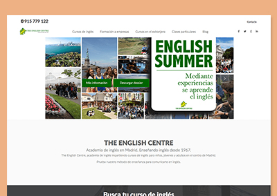 Página web TEC