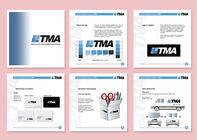 Manuales de identidad visual corporativa