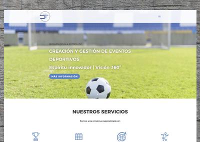Página web Fútbol DF